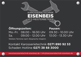 Karosserietechnik Eisenbeis Adresse und Telefonnummer
